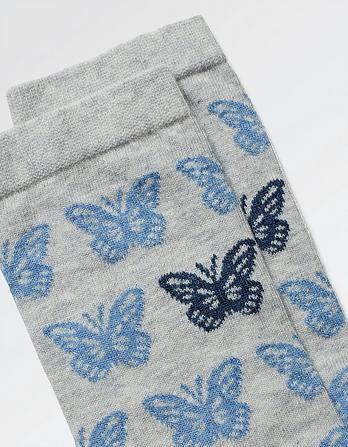 One Pack Butterfly Socks