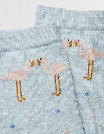 One Pack Flamingo Socks