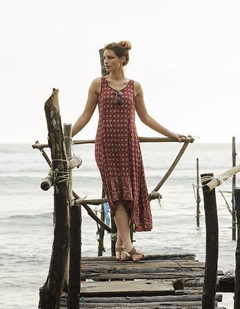 Lula Daisy Diamond Midi Dress