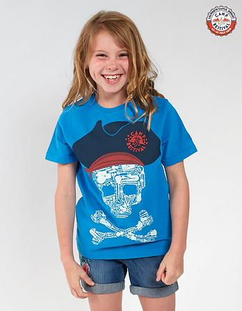 Camp Bestival Skull T-Shirt