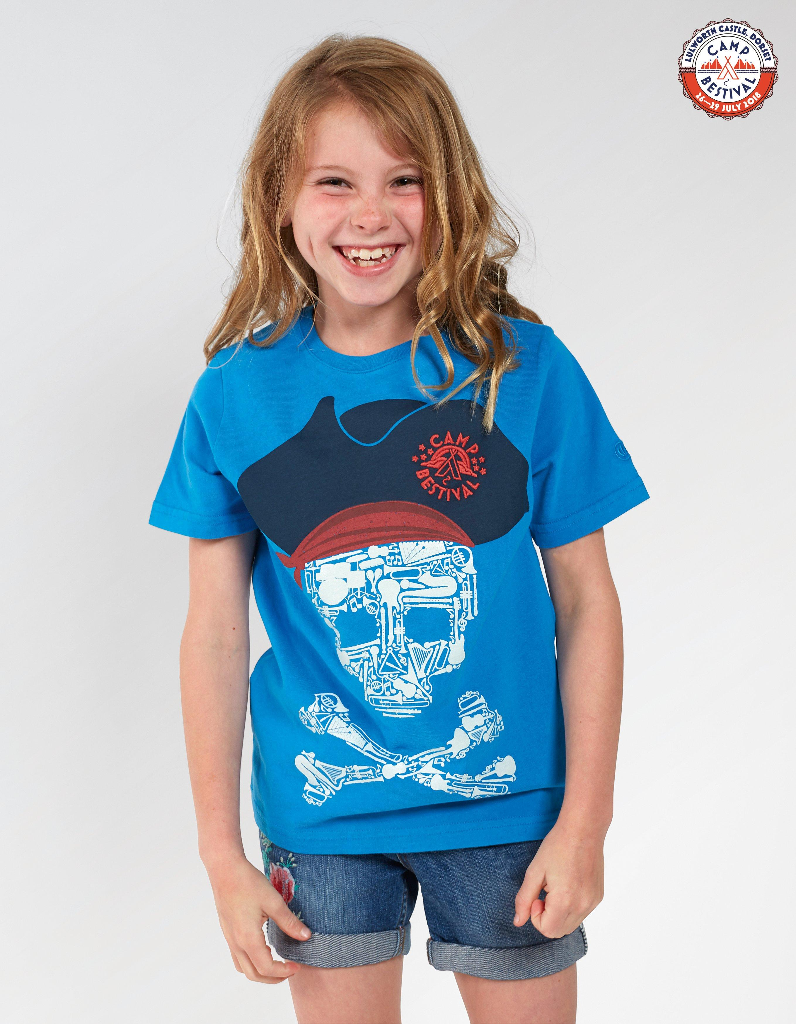 Camp Bestival Skull T-Shirt