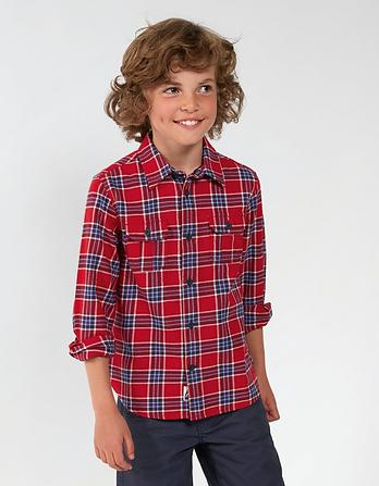 Daniel Square Check Shirt