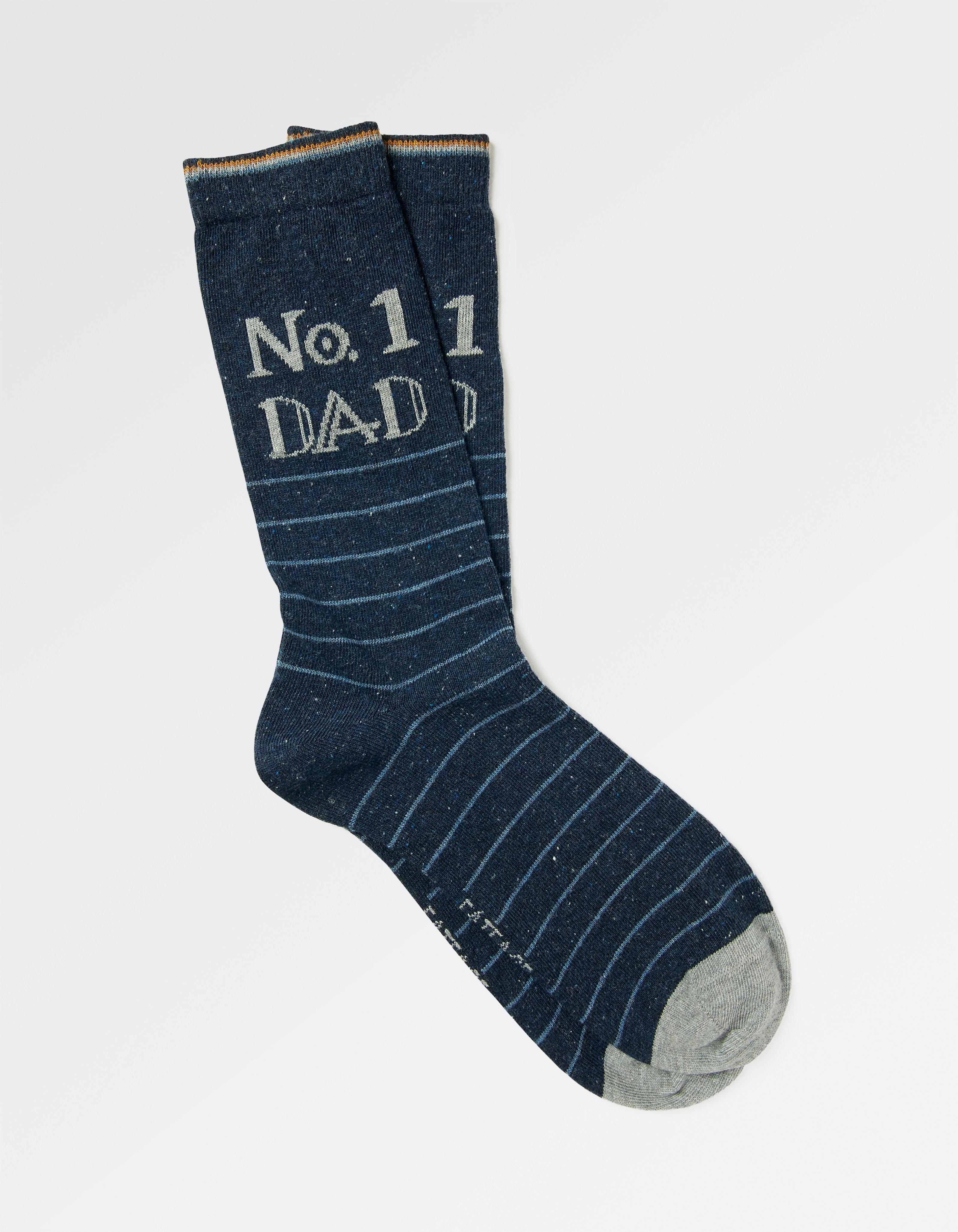 1pk Mens No1 Dad Socks