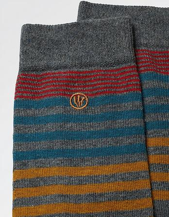 One Pack Stan Stripe Socks