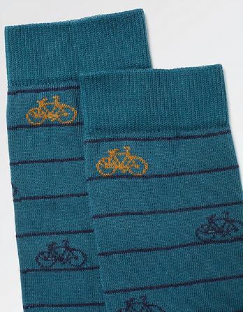 One Pack Bike Stripe Socks