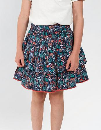 Jungle Print Ra Ra Skirt