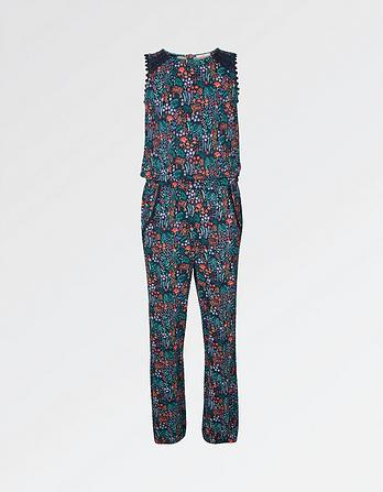 Natasha Jungle Print Jumpsuit