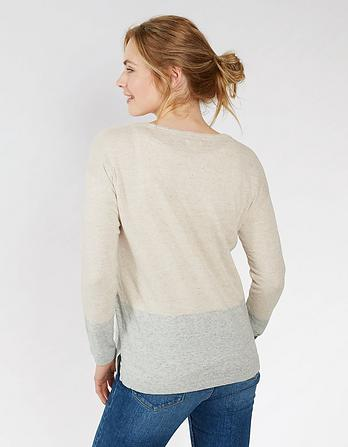 Organic Cotton Alice V-Neck Sweater