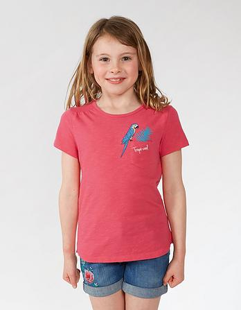 Parrot Pocket T-Shirt