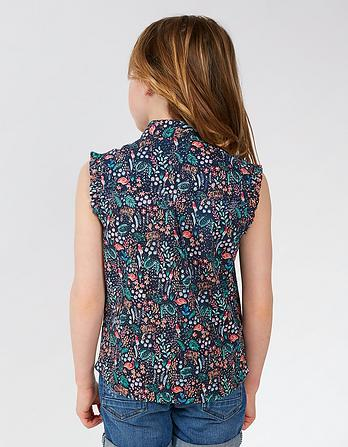 Rebecca Jungle Print Blouse