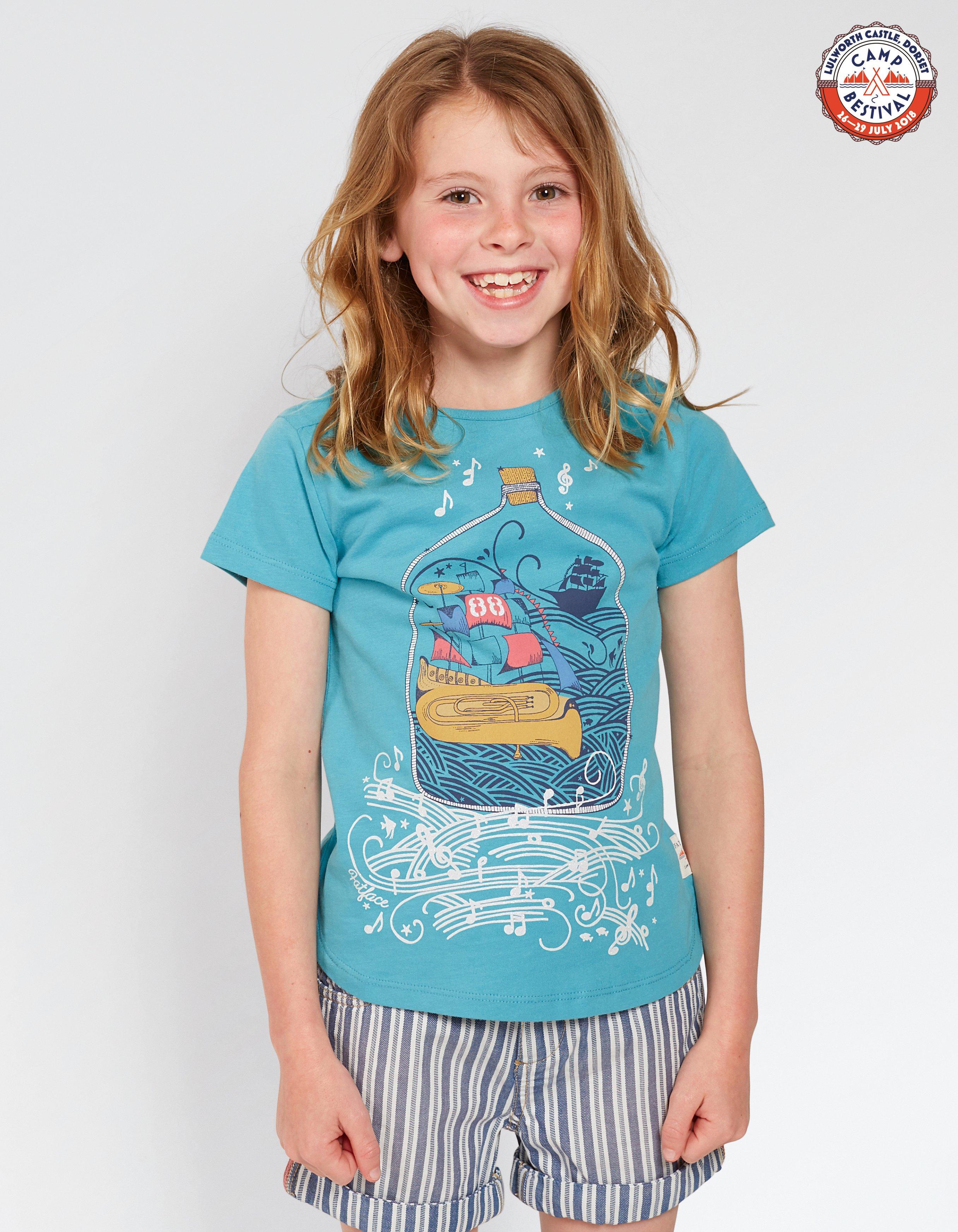 Camp Bestival Ship T-Shirt