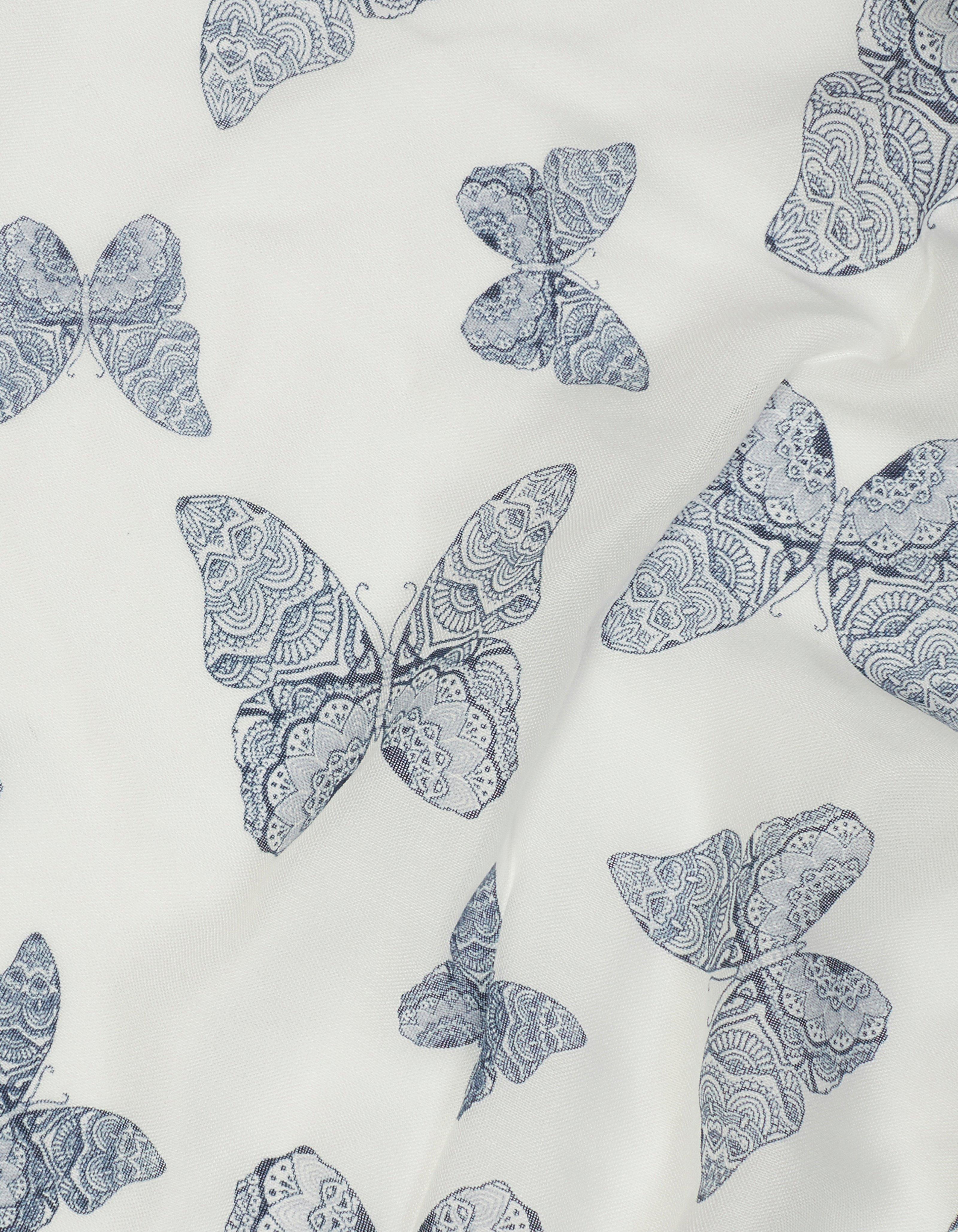 Mandala Butterfly Scarf