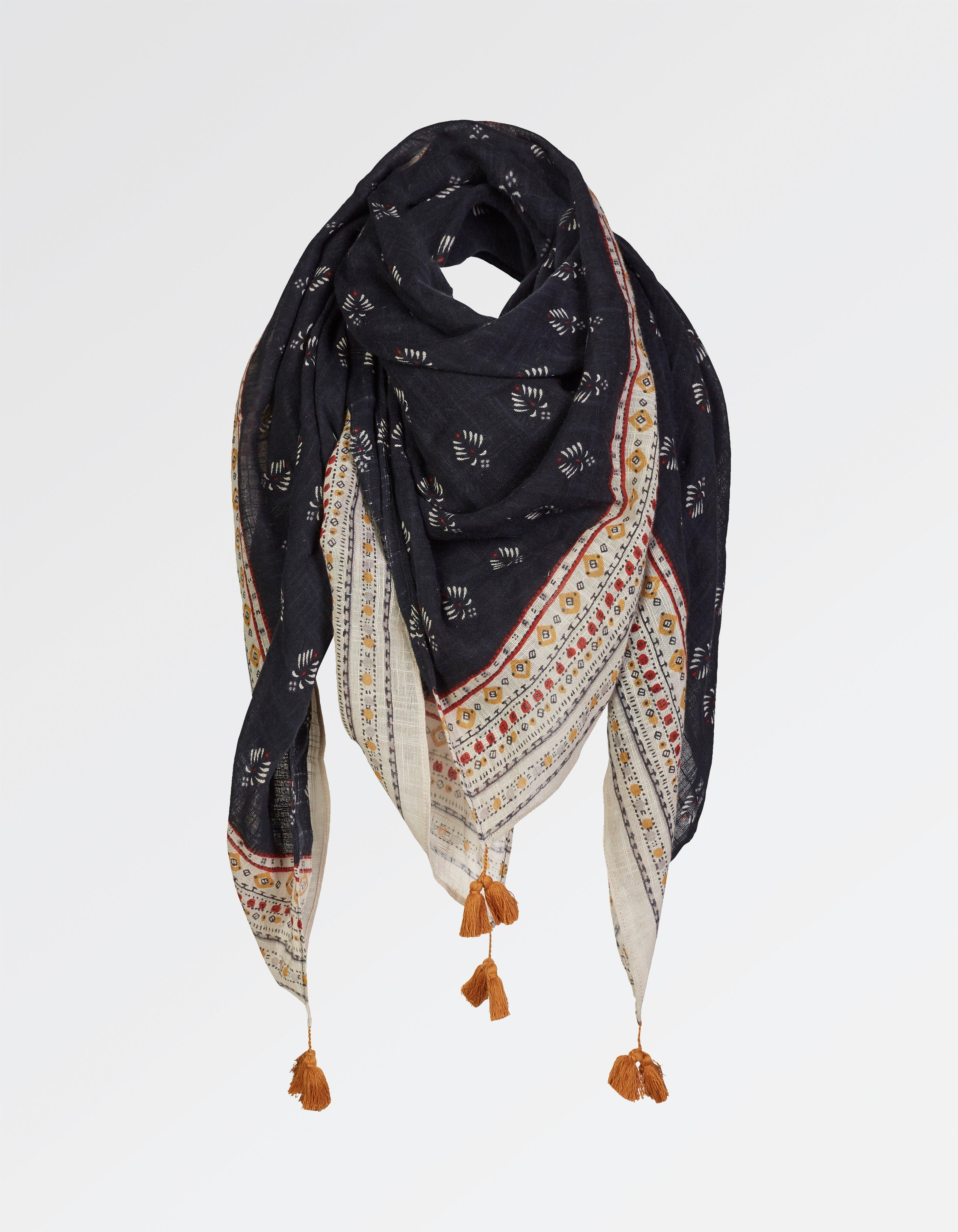Savannah Geo Square Scarf