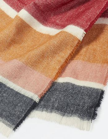 Brushed Stripe Scarf