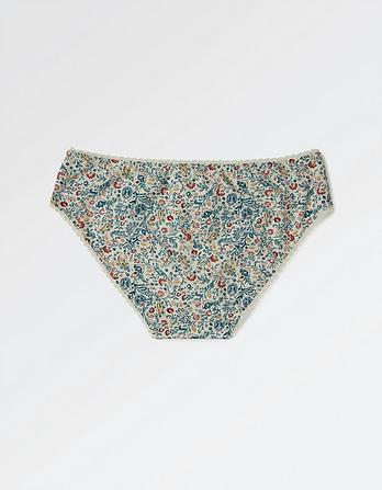 Paisley Floral Mini Briefs
