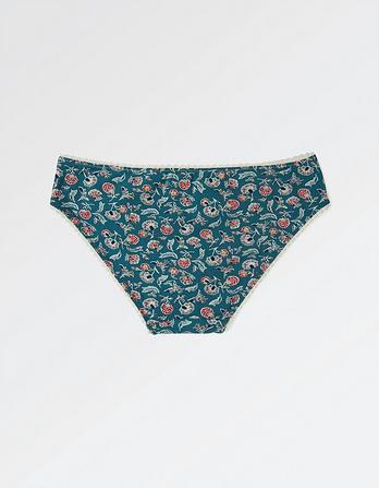 Louise Floral Mini Briefs