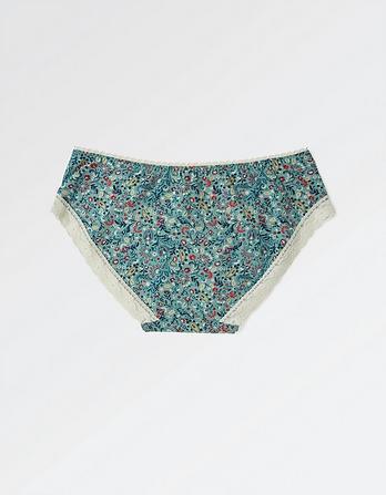 Paisley Floral Girl Shorts
