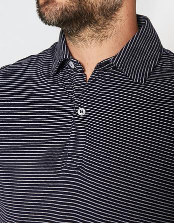 Hale Fine Stripe Polo