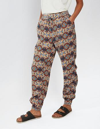 Kaleidoscope Cuffed Trousers