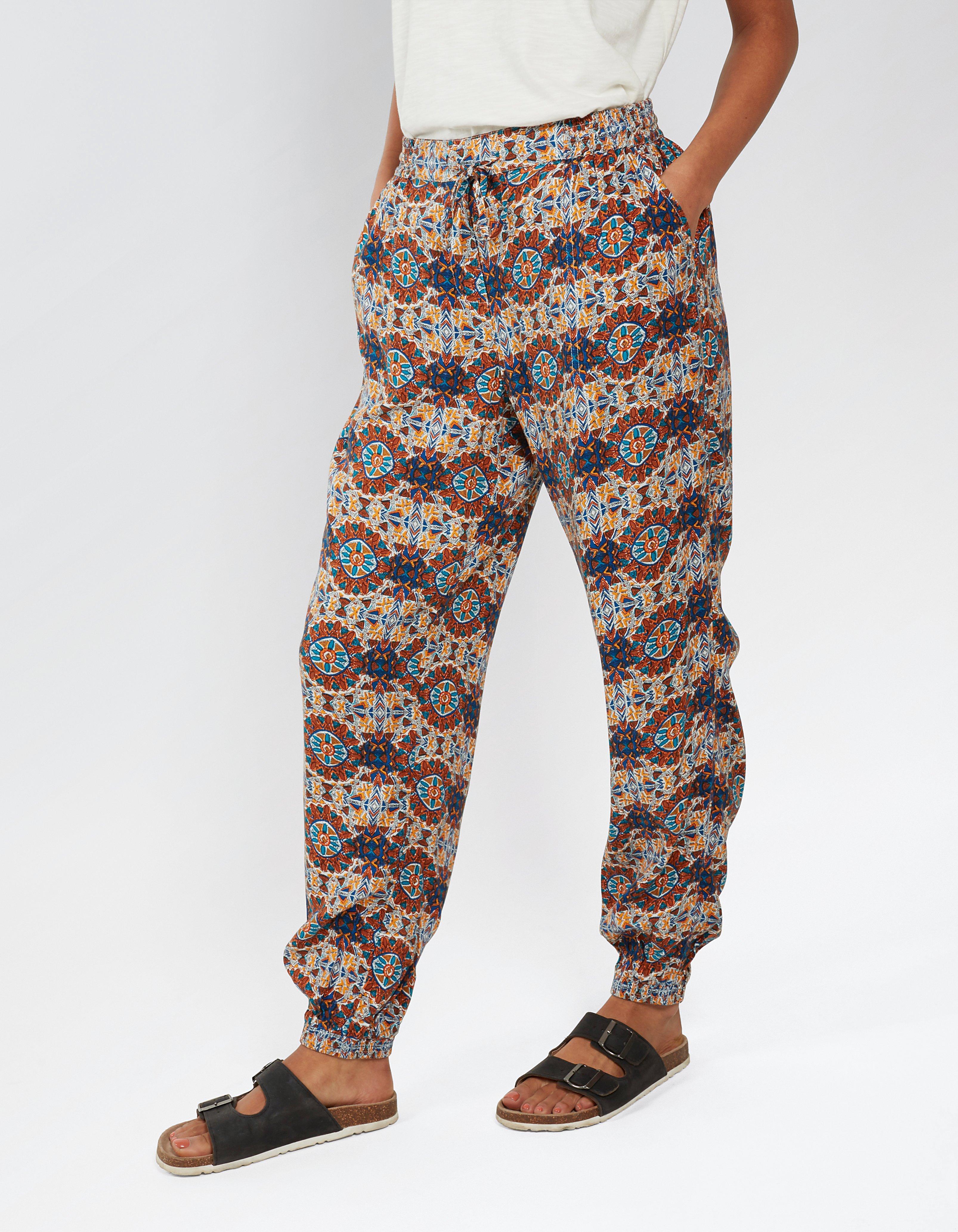 Kaleidoscope Cuffed Trousers