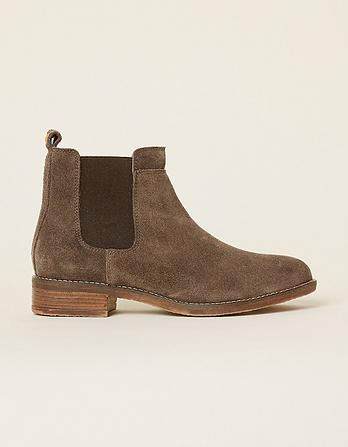 Newham Suede Chelsea Boots