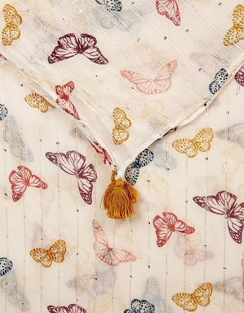 Colour Pop Butterfly Scarf