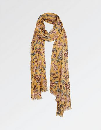 Dotty Floral Scarf