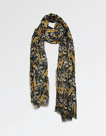 Leaping Tiger Scarf