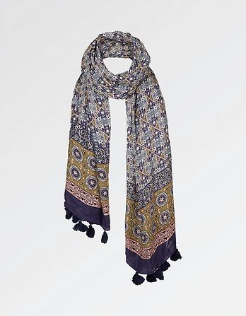 Indian Patchwork Scarf