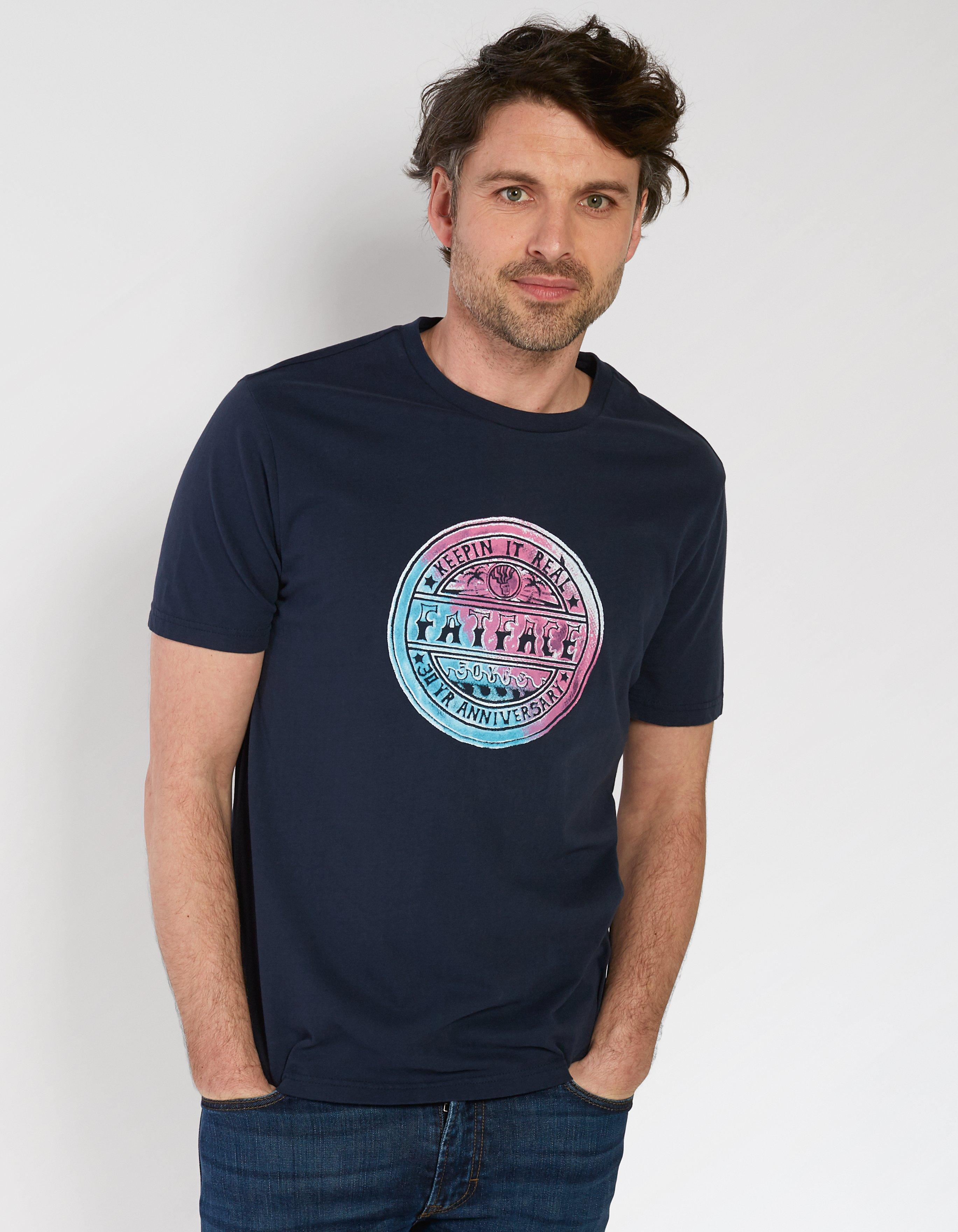 30 Years Keep Real Organic Cotton Graphic T Shirt