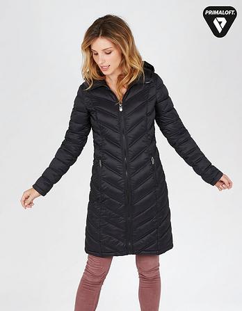 Louisa Longline Puffer Jacket