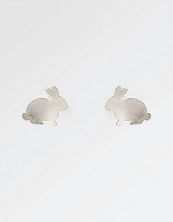The Old Farmhouse Rabbit Stud Earrings