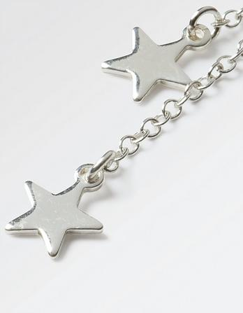Double Star Drop Earrings