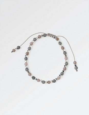 Bead and Cube Bracelet