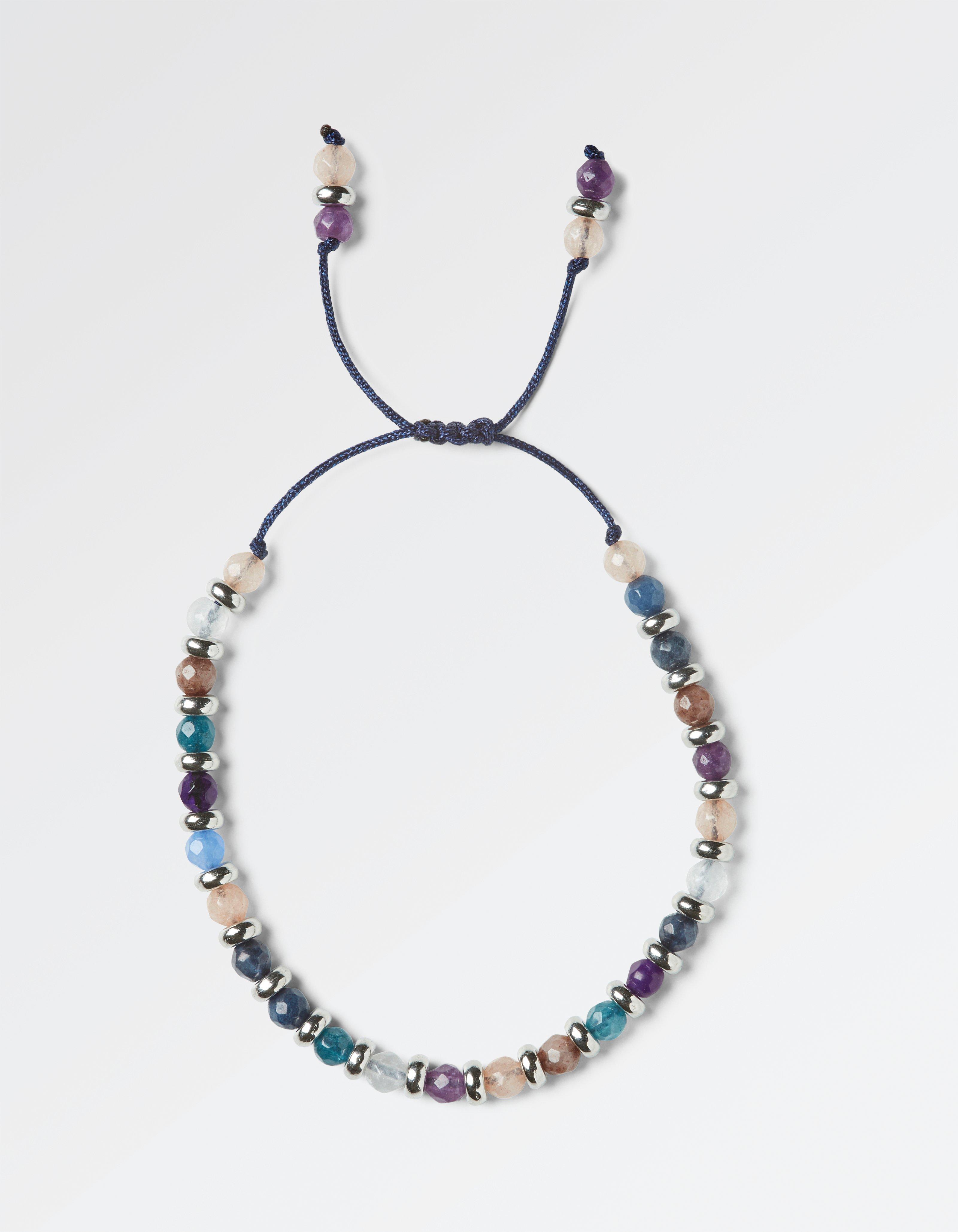 Multi Coloured Bead Bracelet