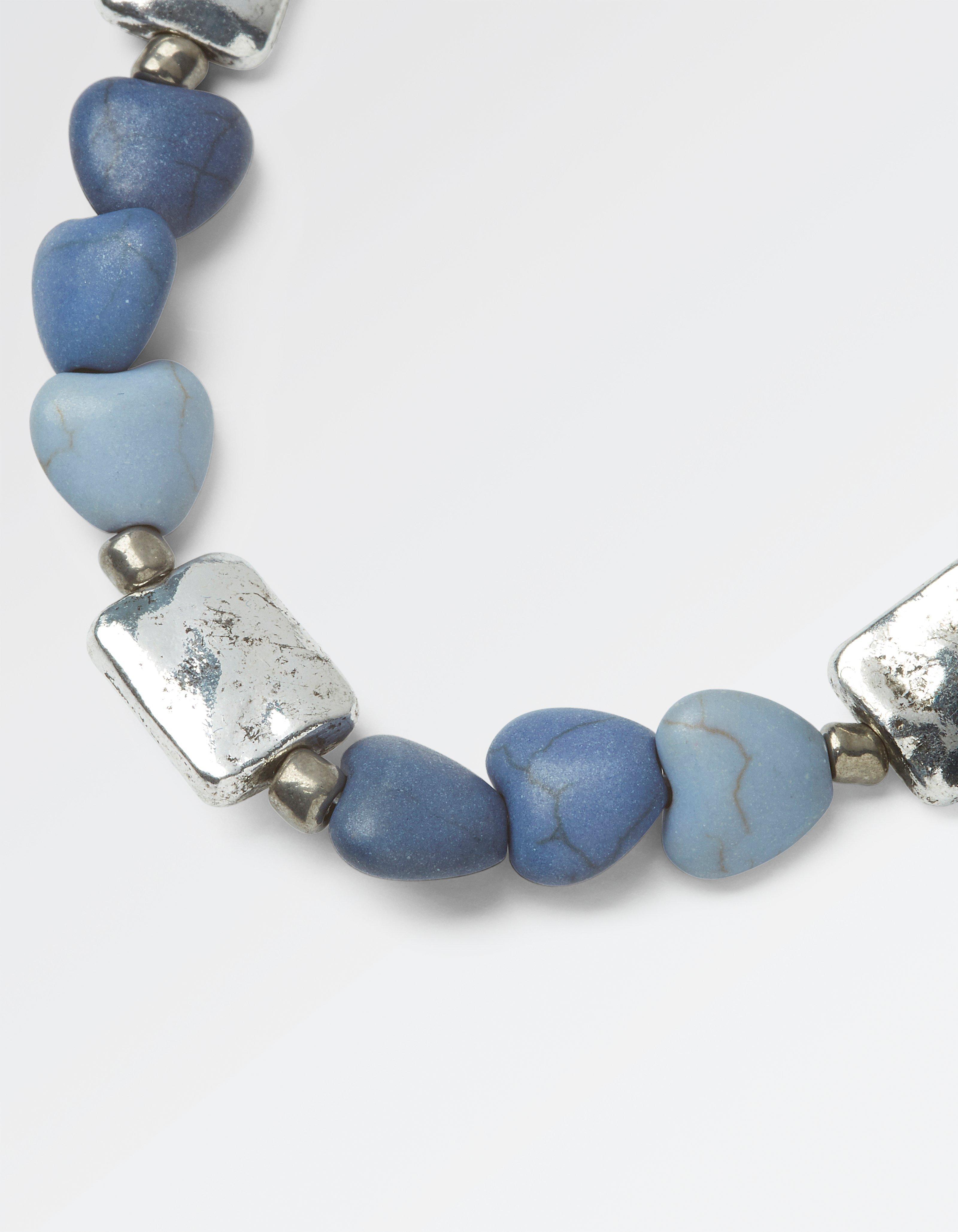 Multi Heart Bead Necklace