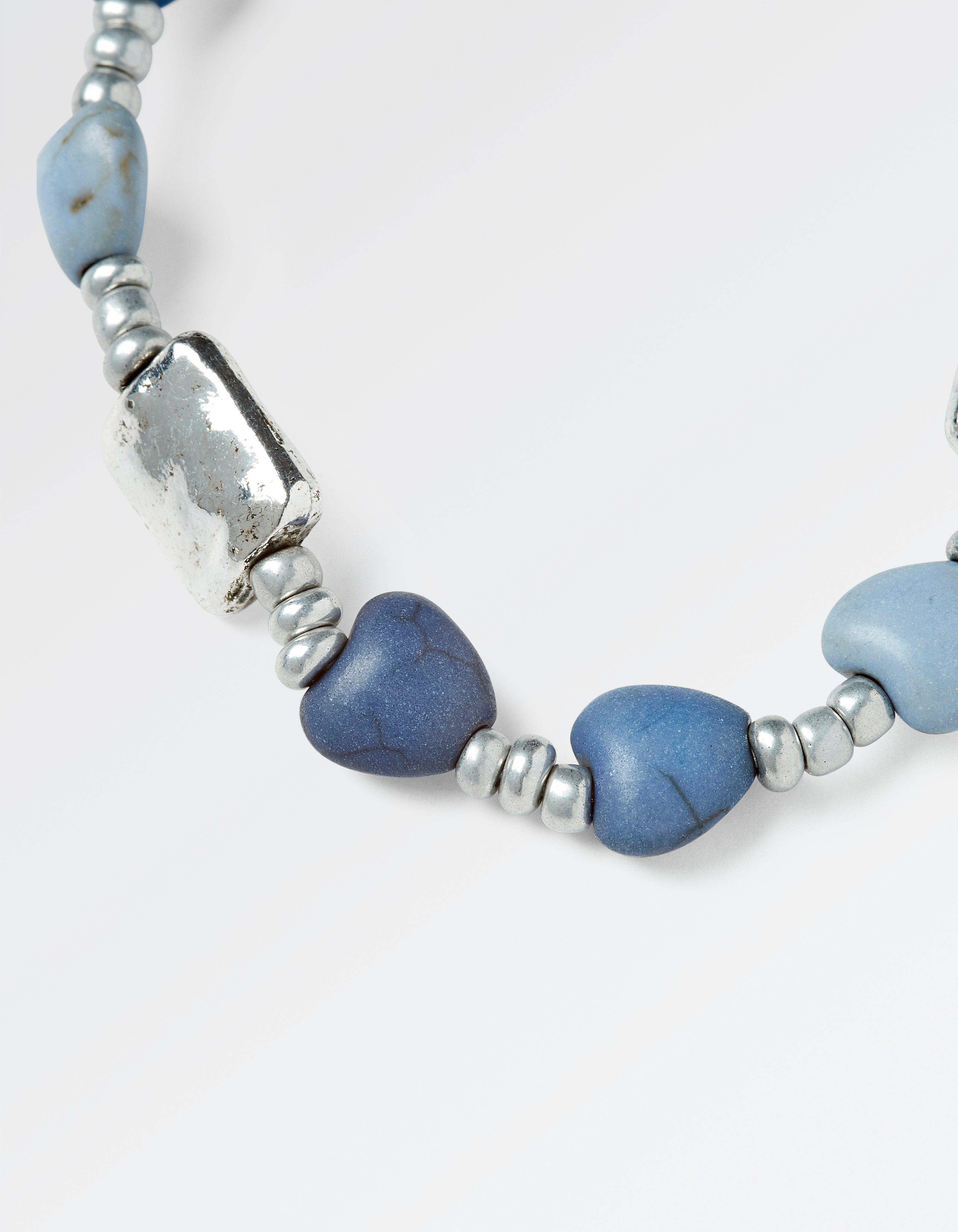 Multi Heart Bead Bracelet