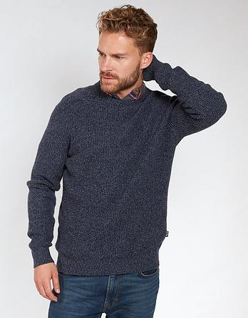 Netherton Twist Crew Neck Jumper