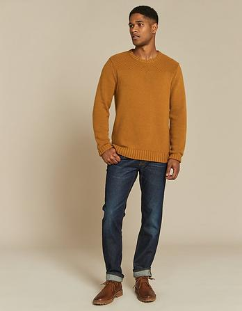 Perth Cable Crew Neck Sweater