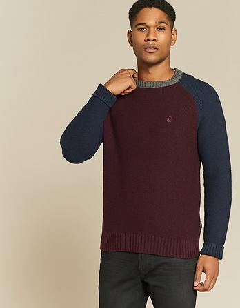Atwick Raglan Crew Neck Sweater