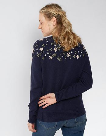 Annabelle Embroidered Sweater