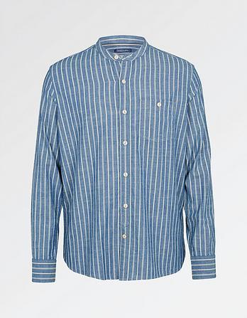 Cullen Stripe Grandad Shirt