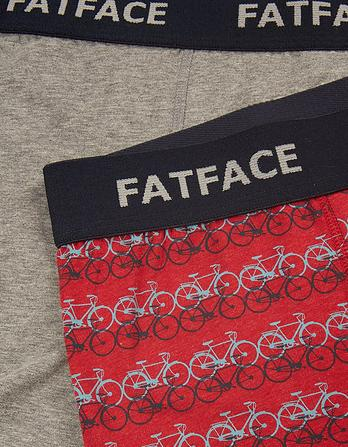 Two Pack Ombre Bike Boxers