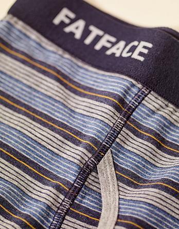 Two Pack Alton Stripe Boxers