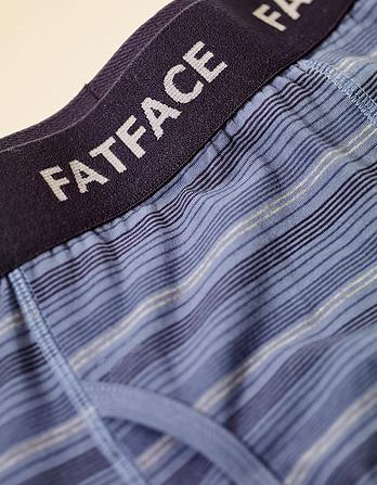 Two Pack Frome Stripe Boxers
