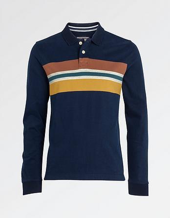 Tintern Stripe Organic Cotton Polo