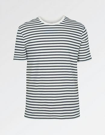 Loopback Stripe T-Shirt