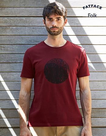 Folk Moon Graphic T-shirt