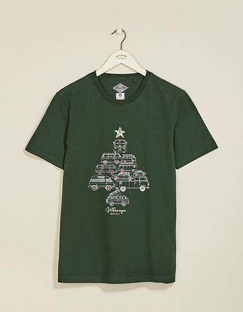 VW Tree of Campers Organic Cotton Graphic T-Shirt