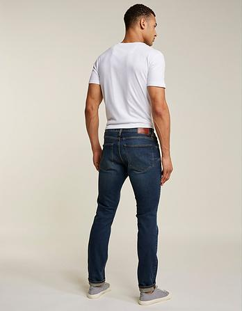 Mid Wash Slim Jeans